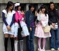 harajuku girls tokyo