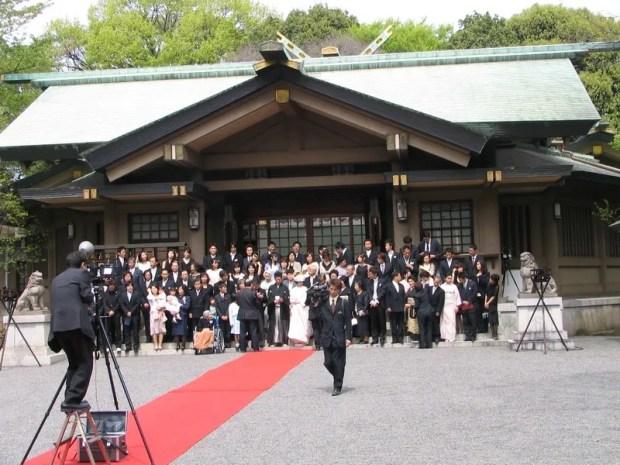 Togo Shrine wedding