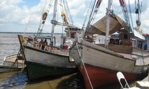 Fishing boats Belem