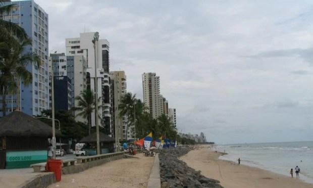 Recife beach