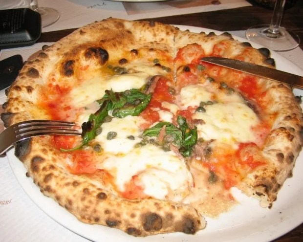 Caffe Italiano pizza