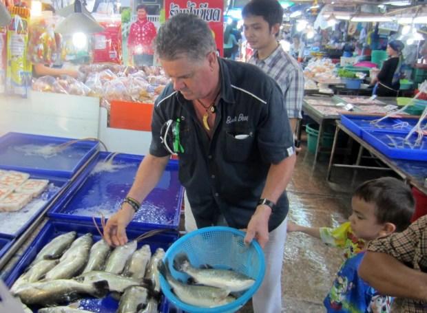 Fish market Naklua Rd