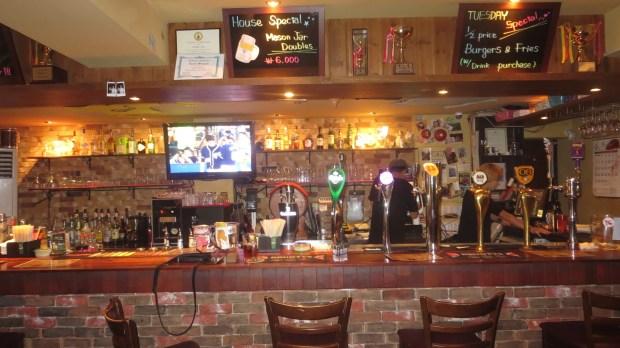 Itaewon bars restaurants