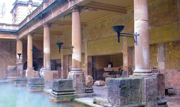 Historic Ancient Roman Bath House