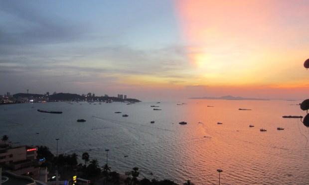 Amazing Pattaya sunset