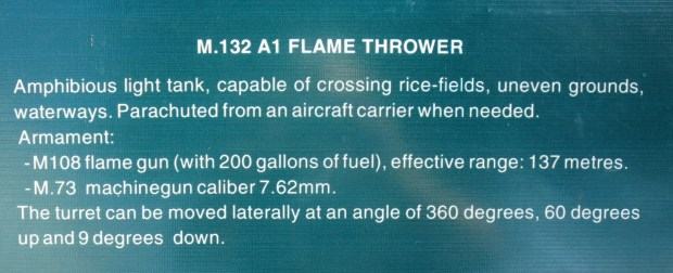 M.132 A1 Flame Thrower photo Warremnantsmuseum14.jpg
