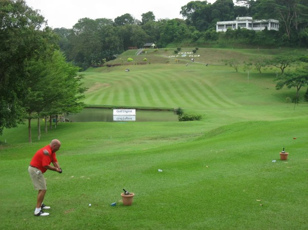 Nice course Changi Golf club Singapore