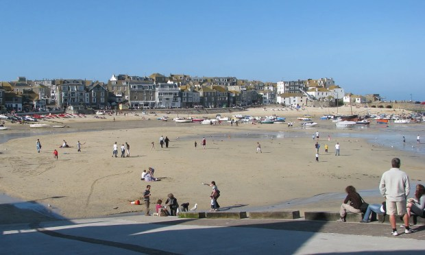 St Ives best seaside town