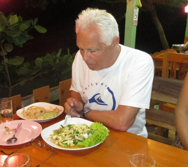 Thailand beach resort fabulous food