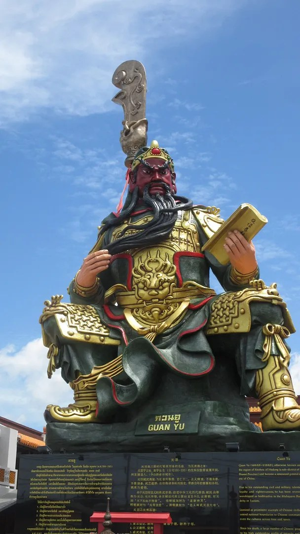 Guan Yu Chinese shrine