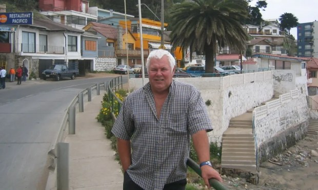 David Herd in Vina del Mar in October 2003
