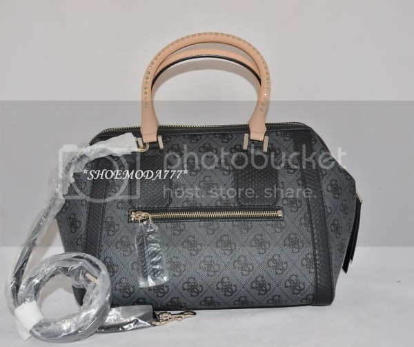 Guess Cheating Heart Bag Purse Top Frame Doctor Satchel 4g