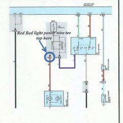 Cargo Light Wiring Diagram 2002 Gmc Radio Wire In Door Sill Page 2 Tundratalk Net Toyota I Ran My Puddle And Foot Well Lights Off The Tiny Stock Driver S Side
