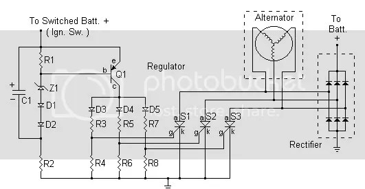 110 Atv Cdi Wiring Diagram Help With Regulator Rectifier Circuit For My Motorcycle