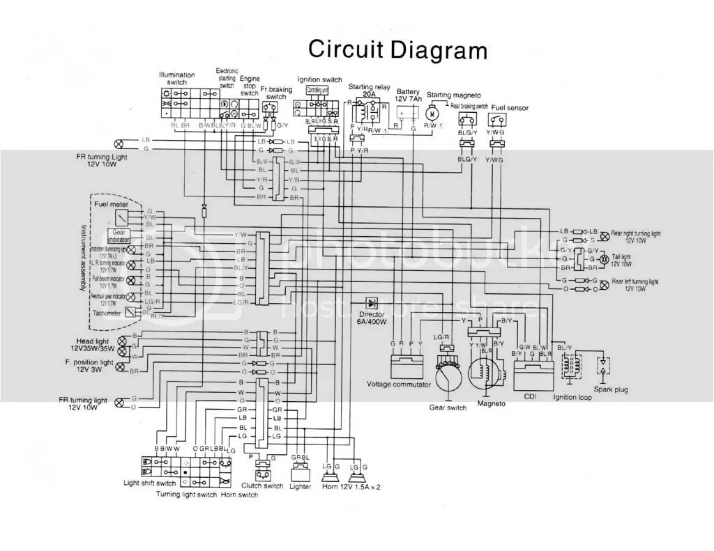 hight resolution of wiring diagram suzuki smash wiring library 2003 suzuki motorcycle wiring diagrams wiring3a ignition kill switch installation