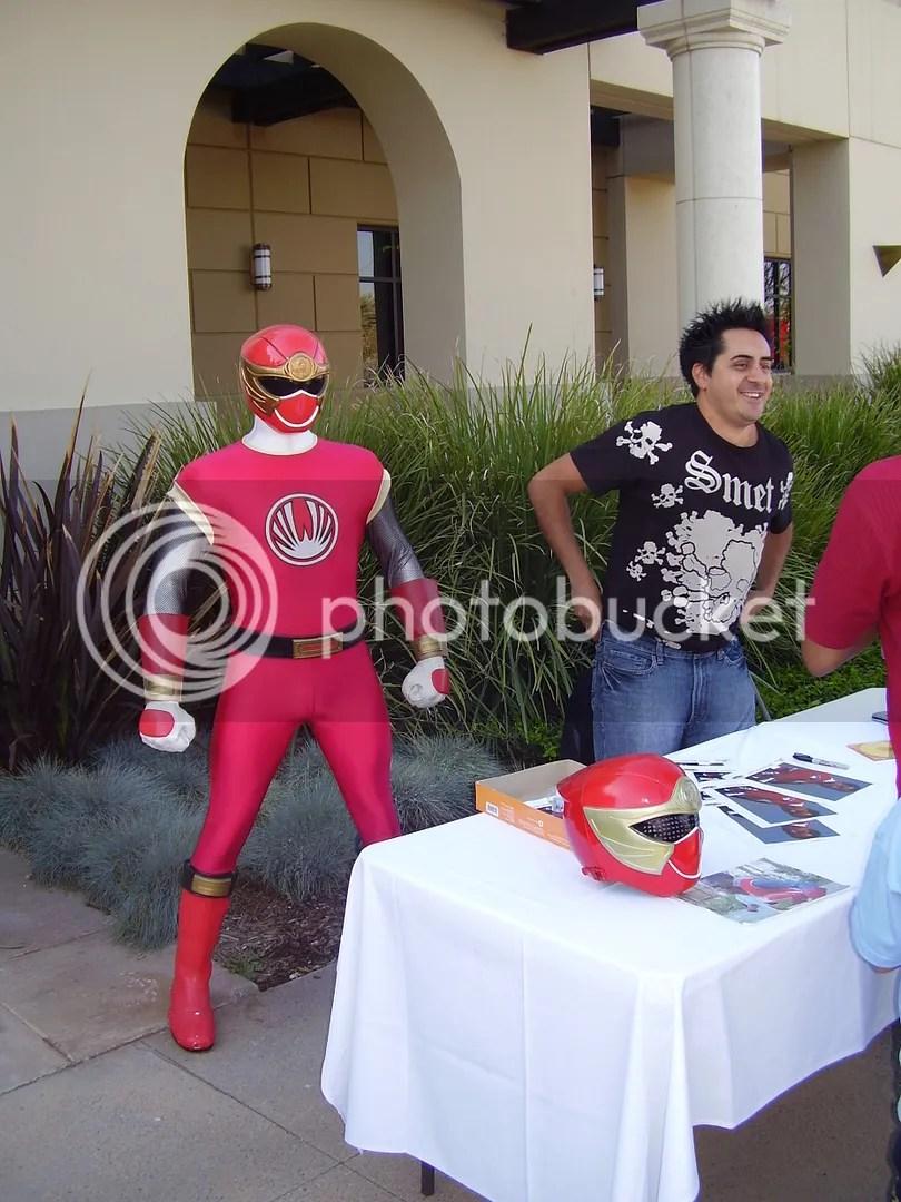 Red Ranger, buckaroo