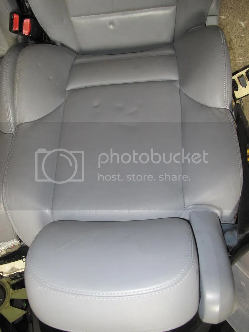 E46 M3 Convertible Grey Leather Front Rear seats w