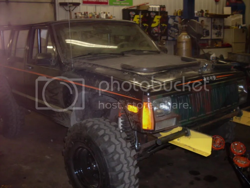 medium resolution of hello my name is john i have a 1993 chop top xj 4 5in lift 33in super swamper tsl custom tube bumpers and full rollcage fab d by myself here are a few