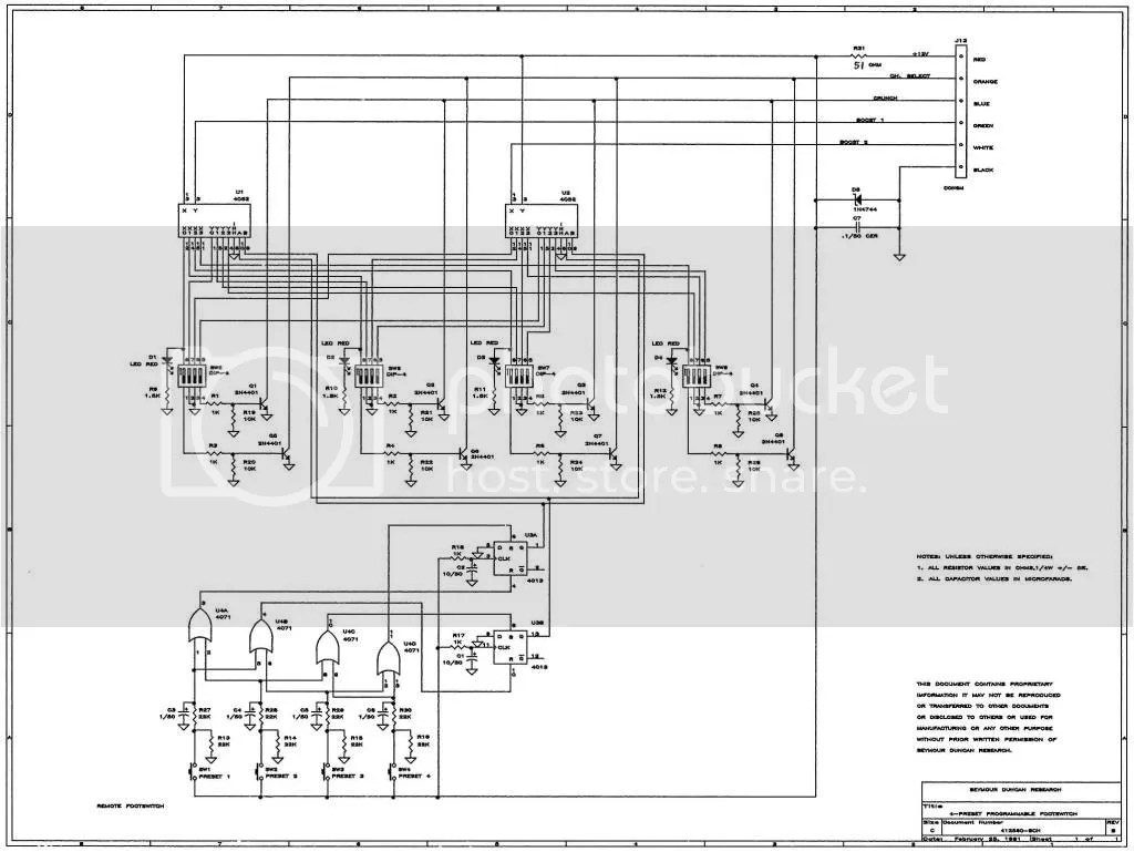 Guitars Amps And Other Gear Schematics