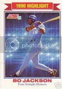 Bo Knows Baseball Cards The Baseball Card Blog