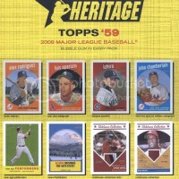 2008 Topps Heritage complete checklist!