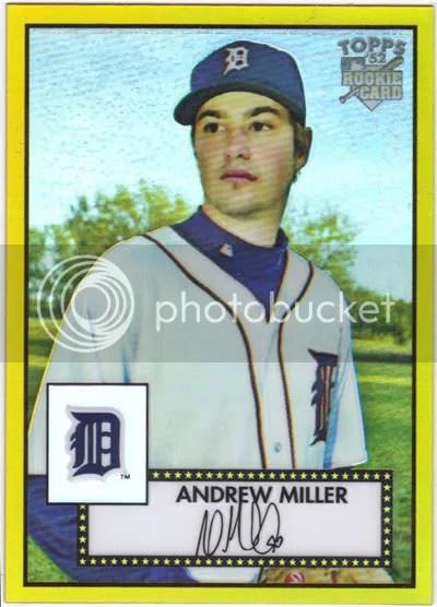 Andrew Miller Gold Refractor