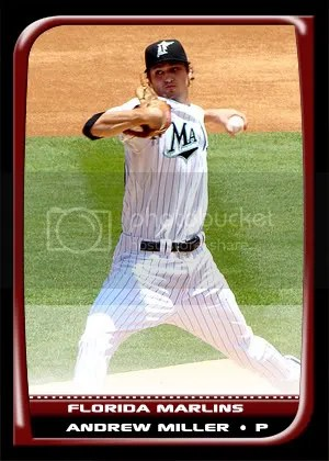 2008 Bowman Custom Card