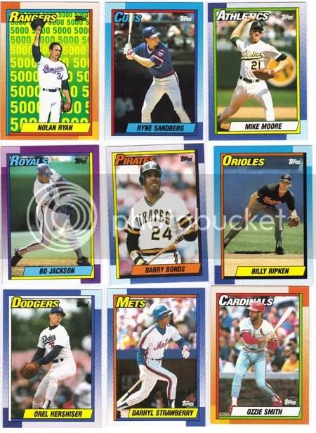 1990 Topps Jumbo Pack Break