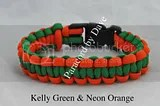 Green and Neon Orange