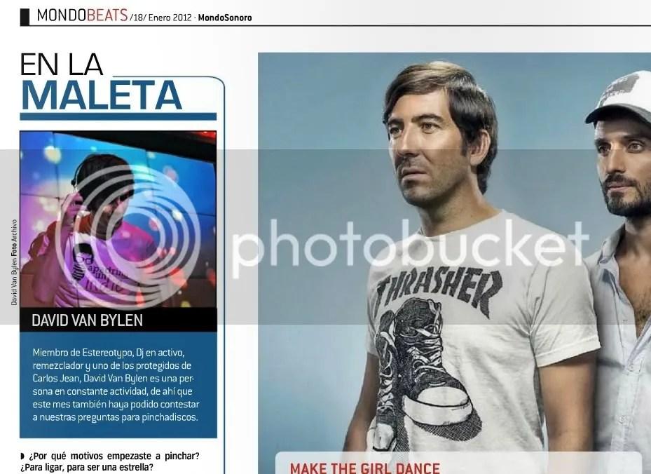 David Van Bylen En La Maleta (Mondosonoro, enero 2012)