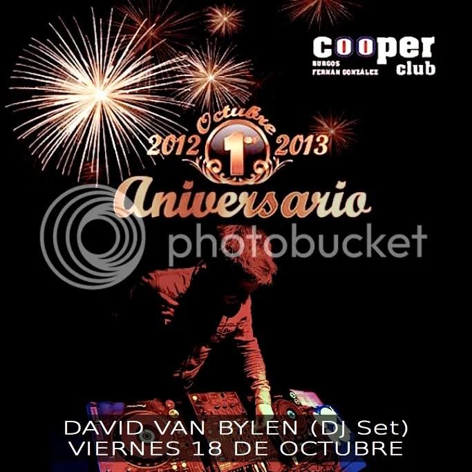 Mixtape Aniversario Cooper Club Burgos