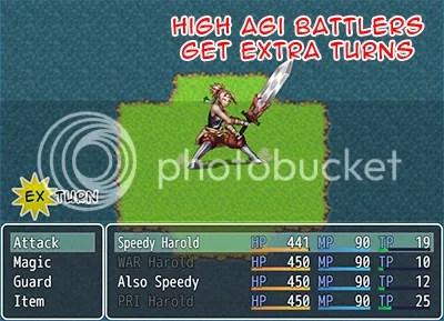 MV Extra Agility Turn | Galv's RPG Maker Scripts & Plugins