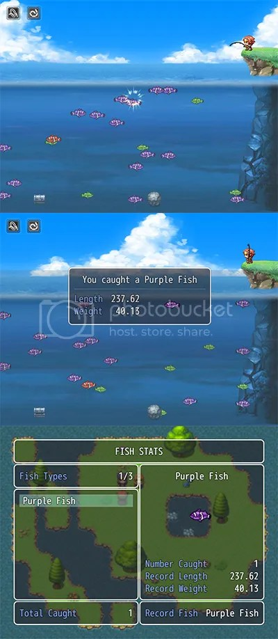 MV Fishing Mini Game | Galv's RPG Maker Scripts & Plugins