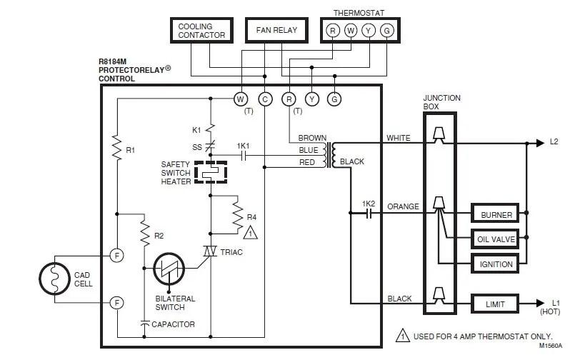 oil furnace wiring help needed