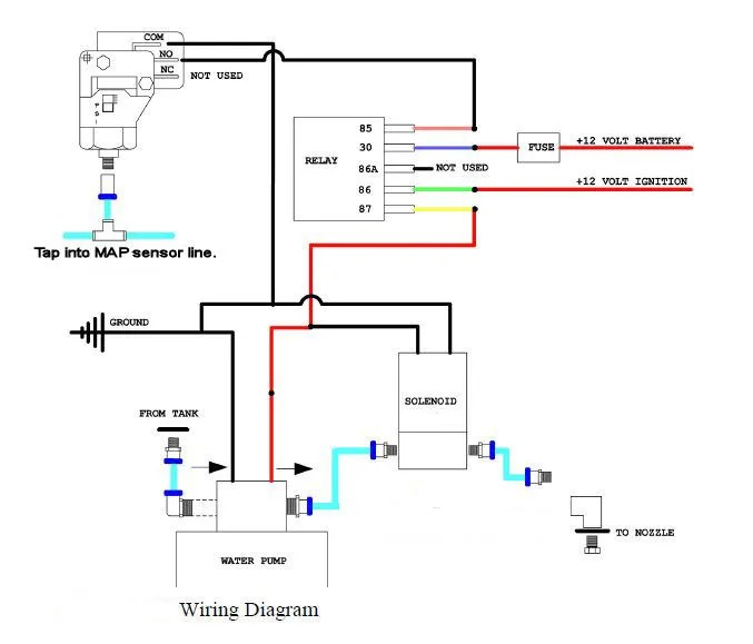Well Pump Wiring on 2 sd fan switch wiring diagram
