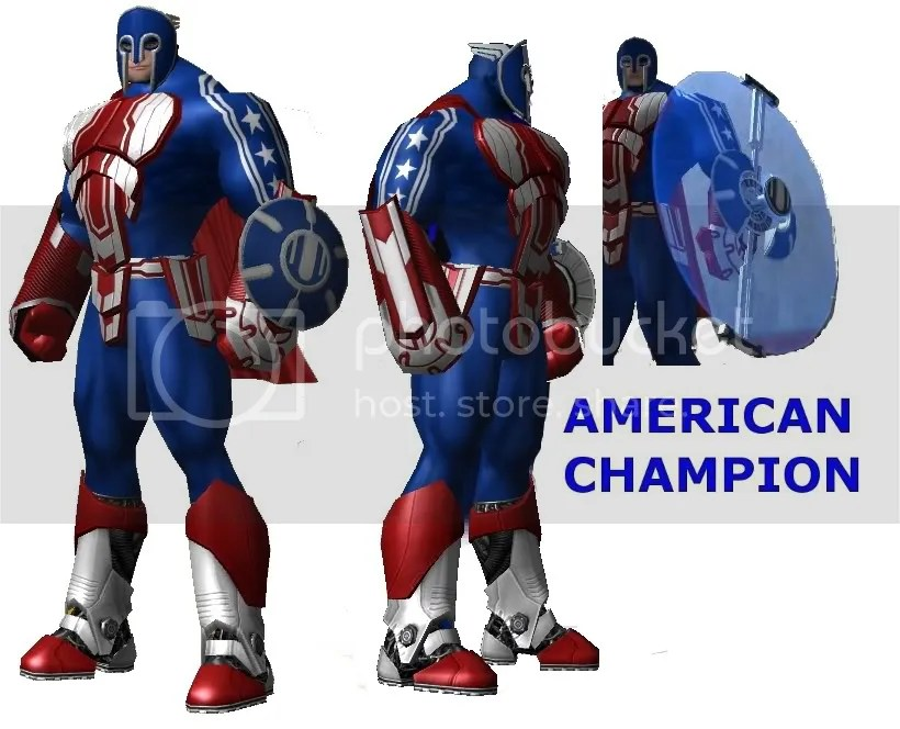 American Champion,Super hero,City of Heroes,COH,COmic