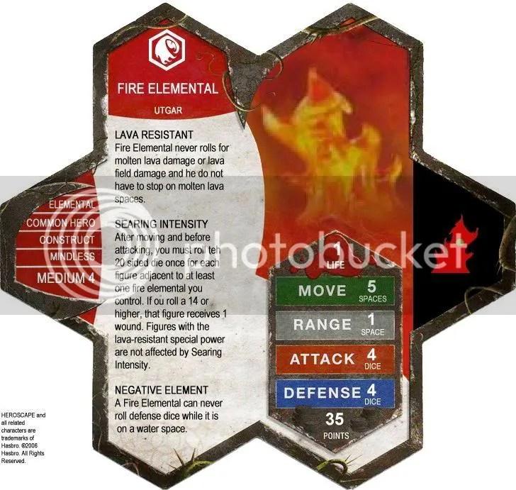 D1 Fire Elemental - UTGAR