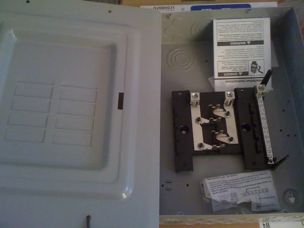 Help With Running New Sub Panel In Garage Electrical Diy Chatroom