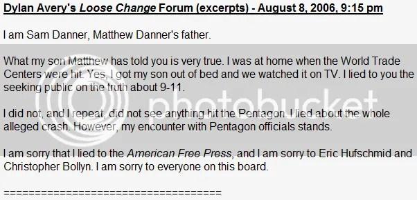 Danner Loose Change forum