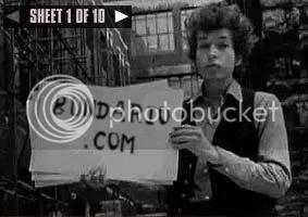 Bob Dylan, garoto propaganda