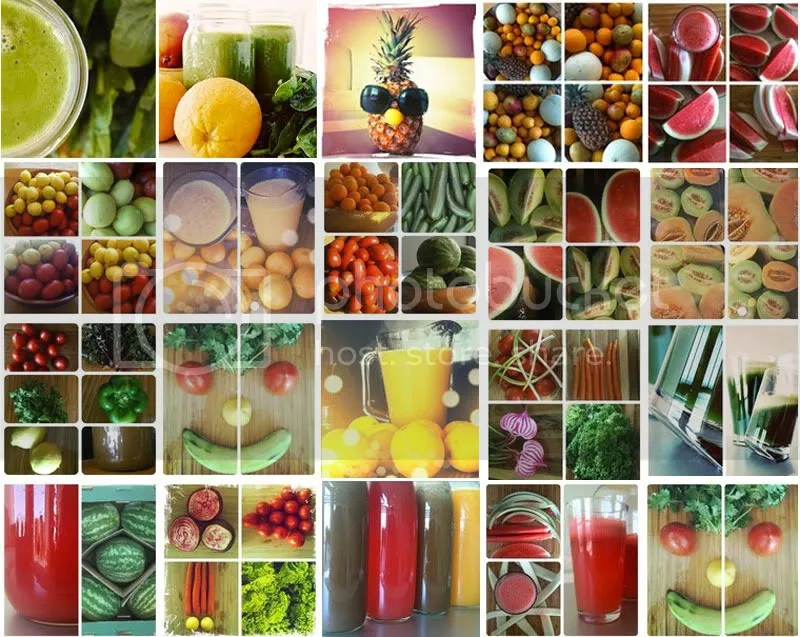 Juicing photos