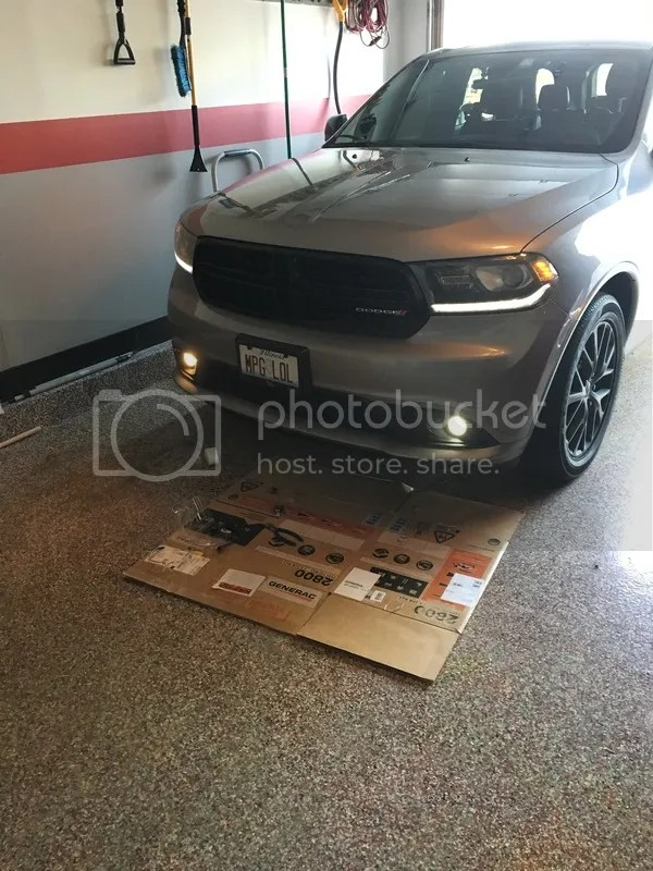 Replace Fog Light Bulb 2017 Dodge Durango