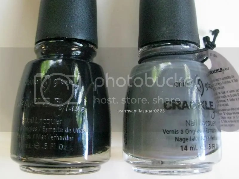 China Glaze Crackle Glaze,China Glaze Black Mesh,China Glaze Cracked Concrete,warmvanillasugar0823