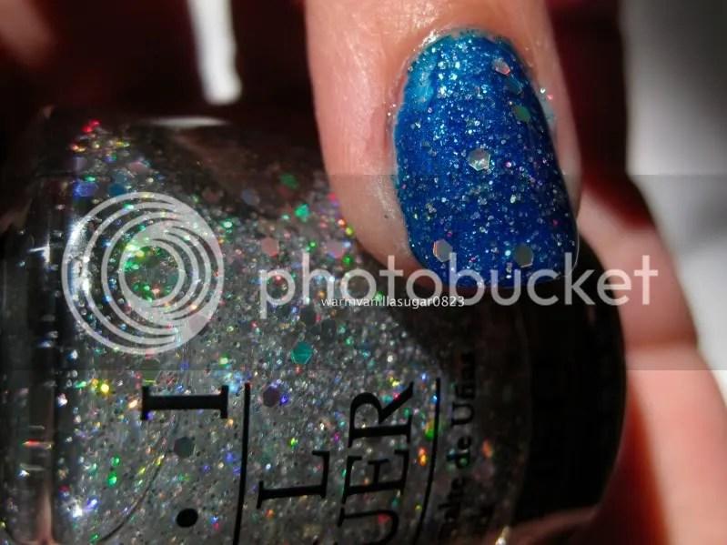 OPI Servin Up Sparkle,warmvanillasugar0823