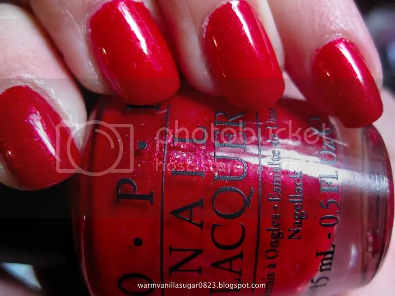 OPI Ali's Big Break,OPI Burlesque Collection,warmvanillasugar0823