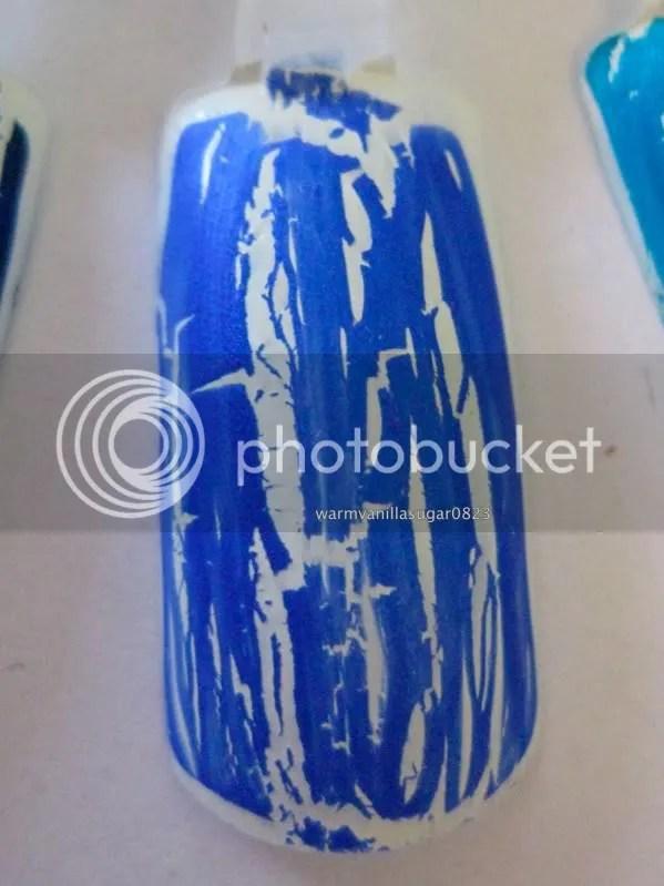 OPI Blue Shatter,warmvanillasugar0823
