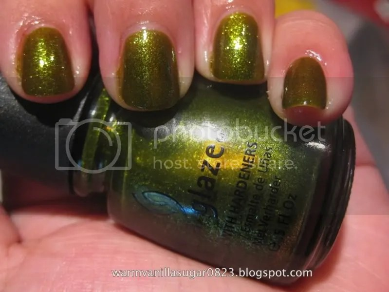china glaze zombie zest,warmvanillasugar0823