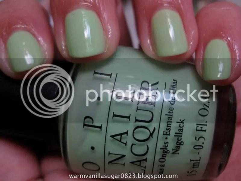 OPI Gargantuan Green Grape,warmvanillasugar0823