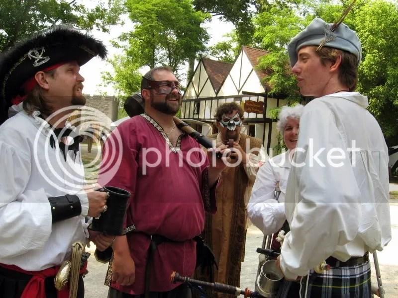 Gathering of Townsfolk