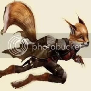 Fox-faced humanoid
